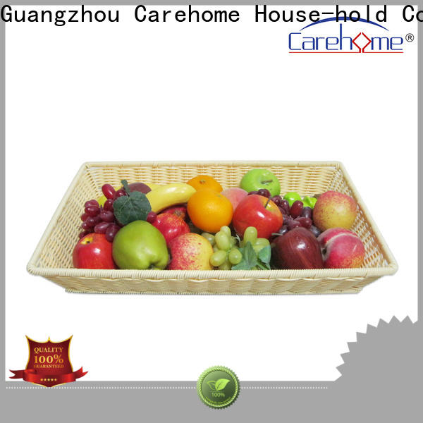 Carehome handicraft rattan bread basket supplier for sale