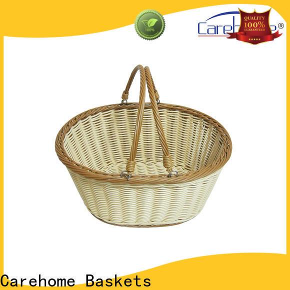 mothproof wicker laundry basket weaved supplier for sale