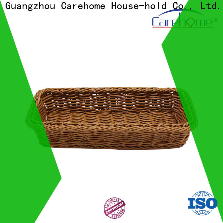 bamboo storage baskets imitation with high quality for supermarket
