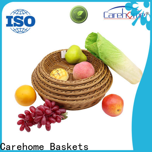 Carehome customized storage baskets with high quality for sale