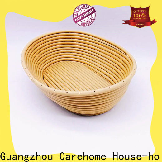 Carehome handicraft bamboo bread basket with high quality for family