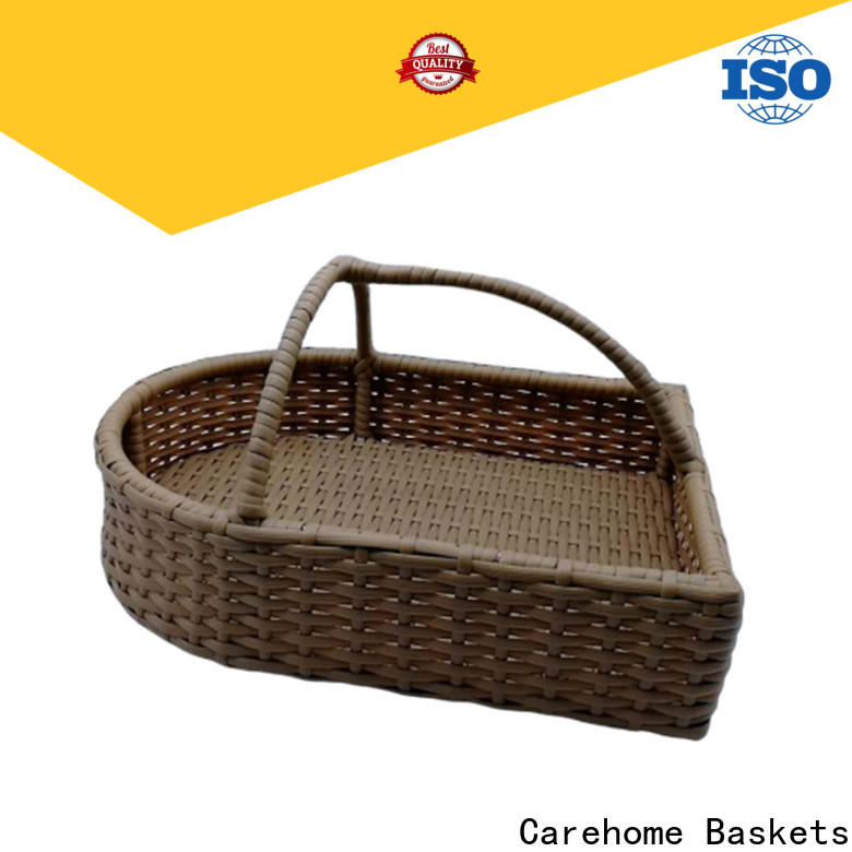 durable wicker laundry basket bread supplier for supermarket