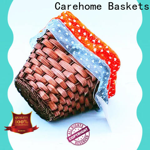 Carehome woven craft gift basket wholesale for market