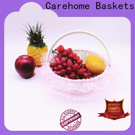 durable wicker gift baskets storage manufacturer for sale