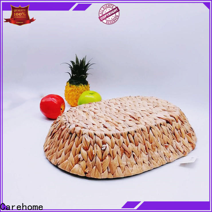 Carehome graceful woven grass basket wholesale for sale