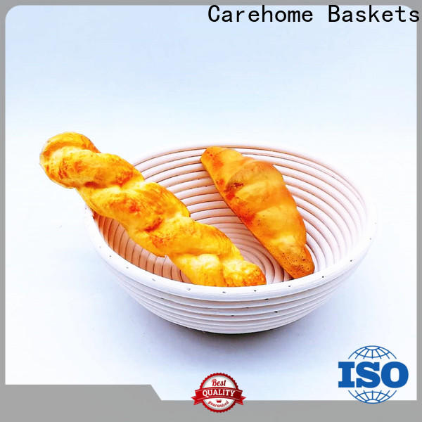 Carehome polypropylene wooden bread basket with high quality for market