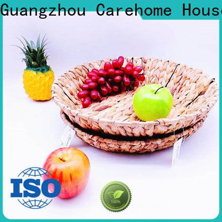 Carehome durable large seagrass basket with high quality for shop