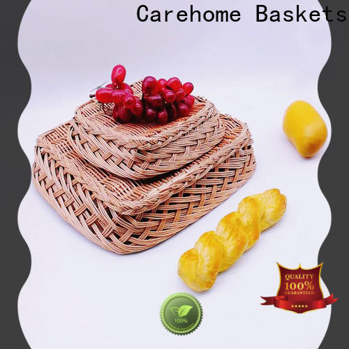 washable wicker gift baskets shape with high quality for shop