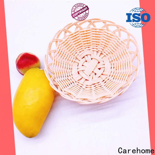 handmade wooden bread basket vegetables with high quality for shop
