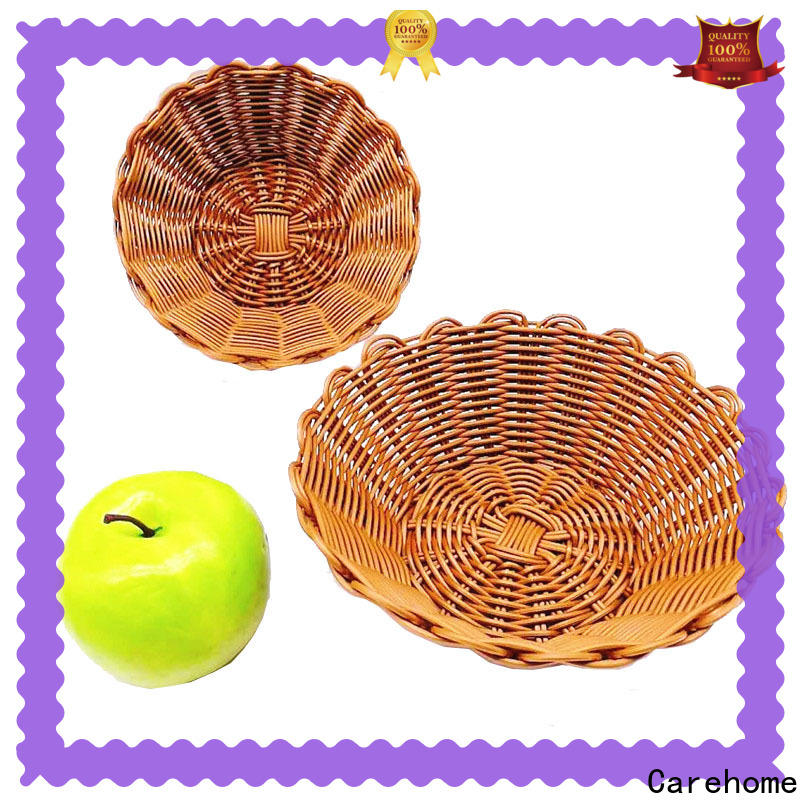 Carehome imitation restaurant basket supplier for market