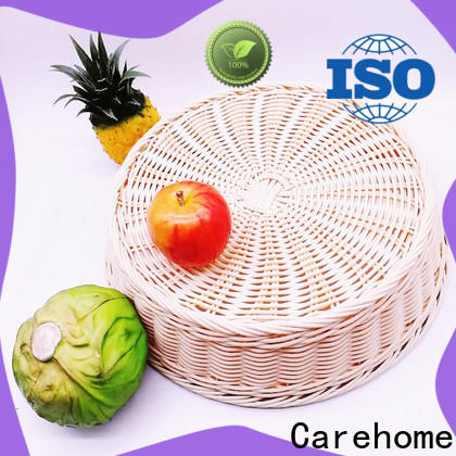 Carehome non-toxic wicker baskets kitchen with certificates for family