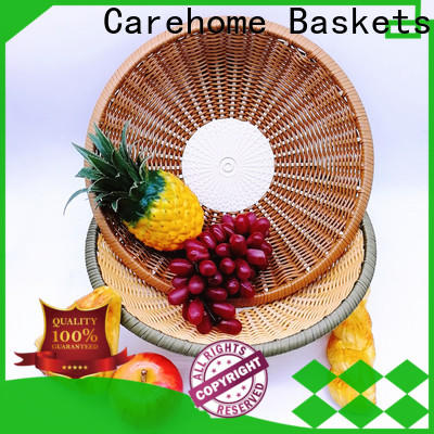 Carehome bowl oval polypropylene basket with high quality for supermarket