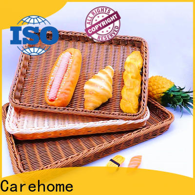 Carehome convinence rattan bread basket wholesale for market