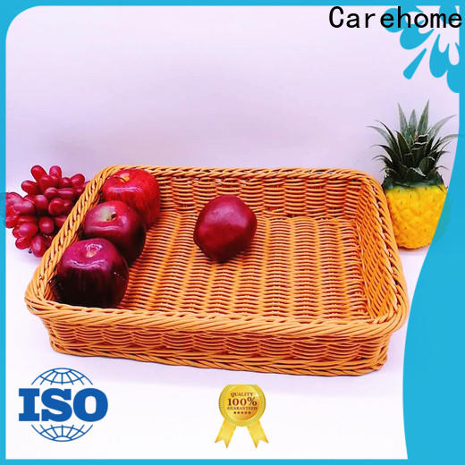 Carehome hand wicker basket with high quality for sale
