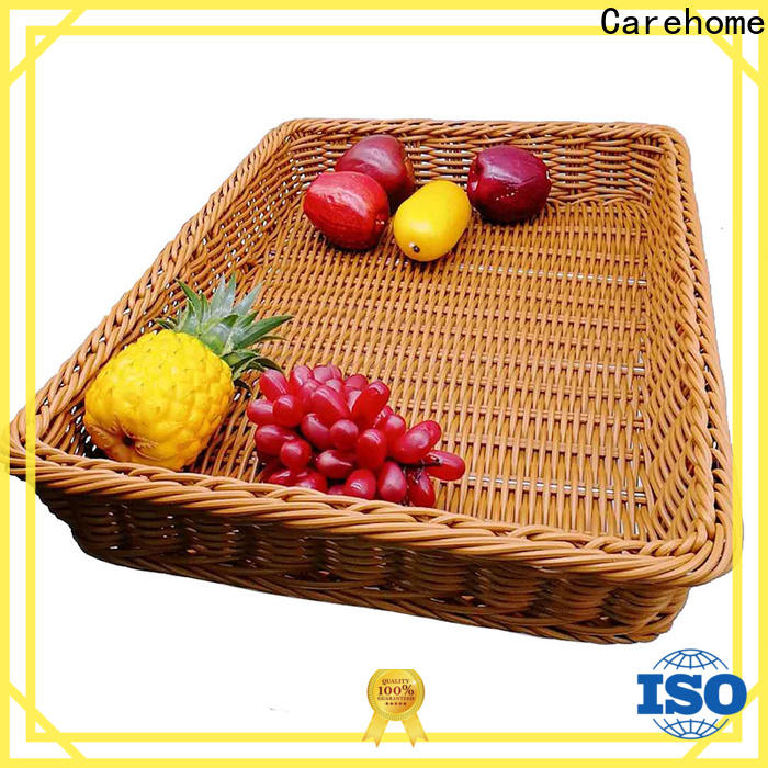 Carehome non-toxic wicker basket supplier for market