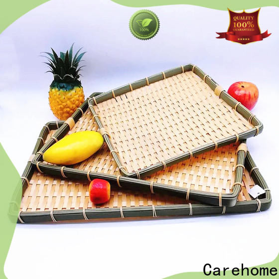 Carehome which big bamboo basket easy to clean for market