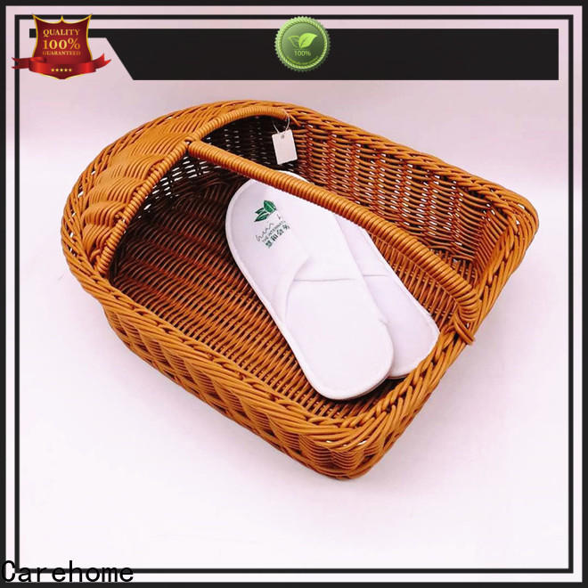 durable laundry basket weaved supplier for supermarket