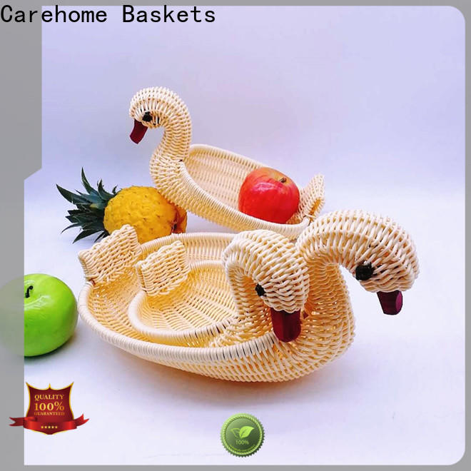 Carehome woven wicker gift baskets manufacturer for market