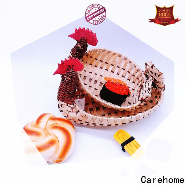 Carehome washable wicker gift baskets with high quality for supermarket