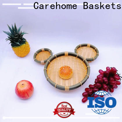 Carehome bamboo dim sum bamboo basket for sale