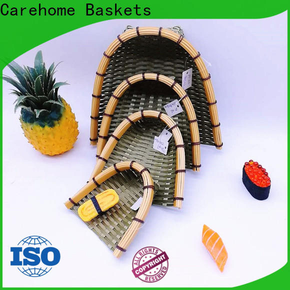 Carehome material how to make bamboo basket for sale