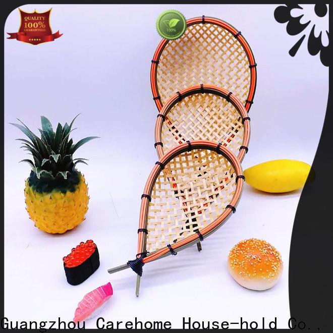 Carehome basket bamboo basket storage for shop