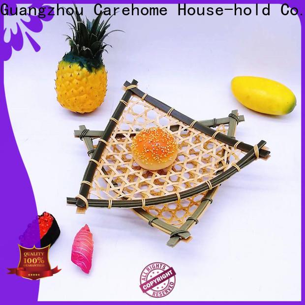 washable the bamboo basket plastic for supermarket
