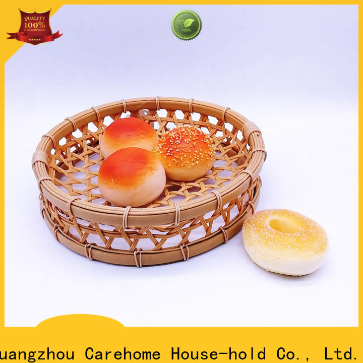 custom woven polypropylene baskets fruit for supermarket
