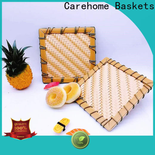 Carehome bottom bamboo baskets for sale on sale for shop