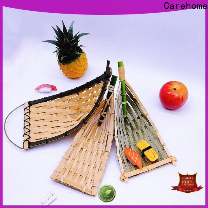 hollow small bamboo basket colorful with high quality for shop