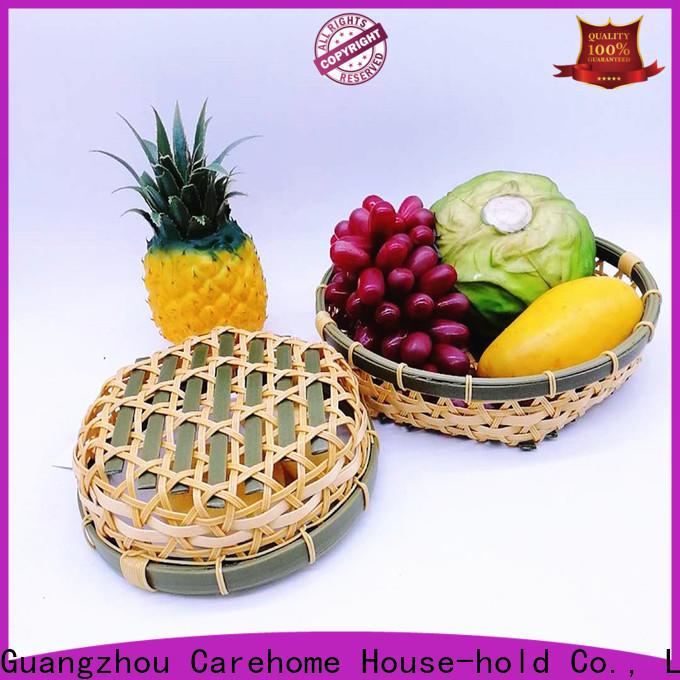 Carehome basket bamboo basket boat for shop