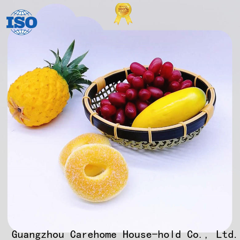 Carehome multifunctional small bamboo basket on sale for shop
