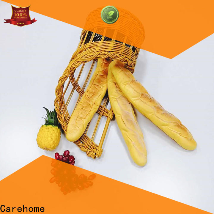 wicker bread basket stand with high quality for sale