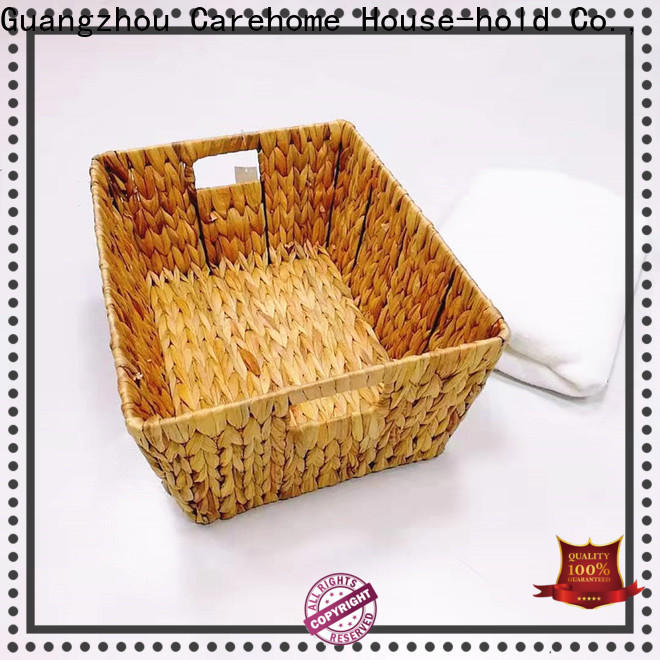 non-toxic woven seagrass basket storage supplier for sale