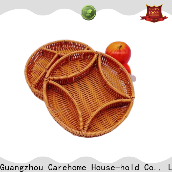 Carehome natural wicker gift baskets manufacturer for sale