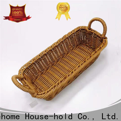bamboo wicker baskets kitchen handcraft with high quality for family