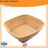Carehome safety wooden bread basket manufacturer for sale