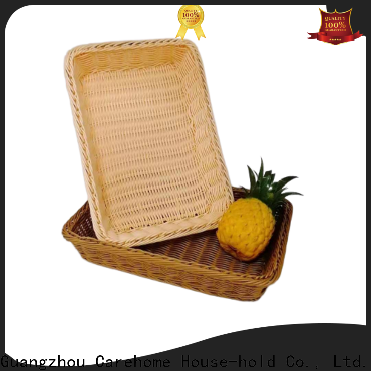 microwave safety wicker bread basket bl1015 with high quality for shop