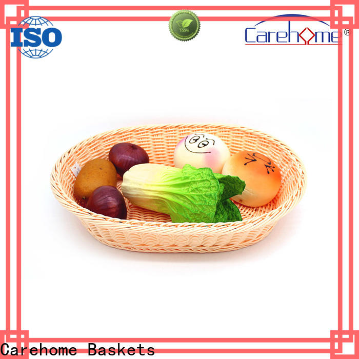 Carehome lovely rattan bread basket wholesale for family