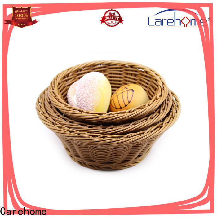 Carehome round plastic bread basket wholesale for market