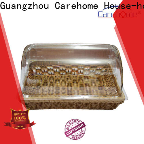 plastic wicker bread basket washable wholesale for shop