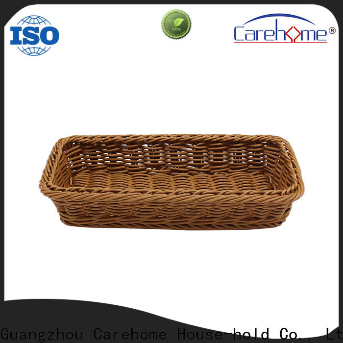 Carehome non-toxic storage baskets manufacturer for family