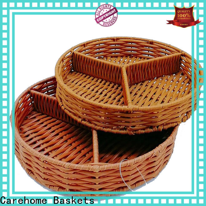 Carehome plastic storage baskets supplier for supermarket