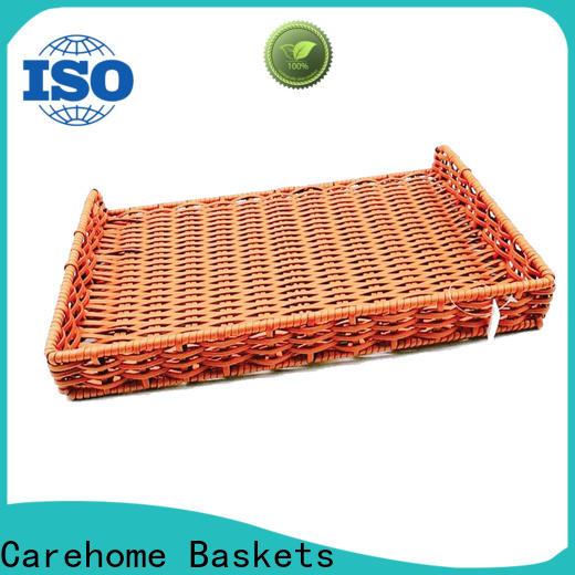 plastic wicker bread basket durable wholesale for supermarket