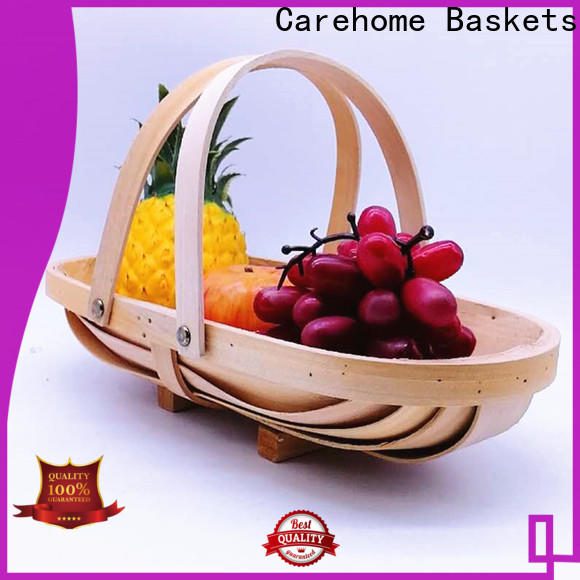 Carehome washable wicker gift baskets manufacturer for supermarket