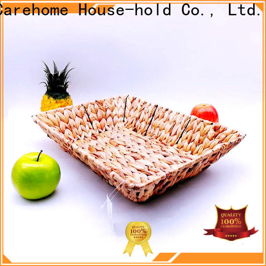 Carehome natural woven seagrass basket wholesale for sale