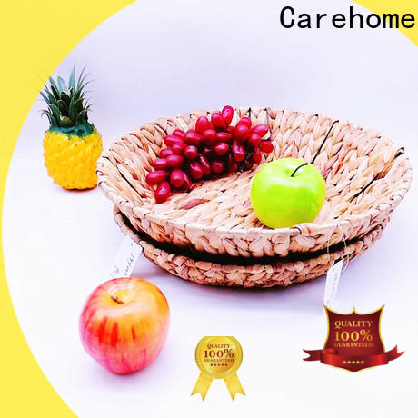 Carehome design hand woven seagrass baskets supplier for market