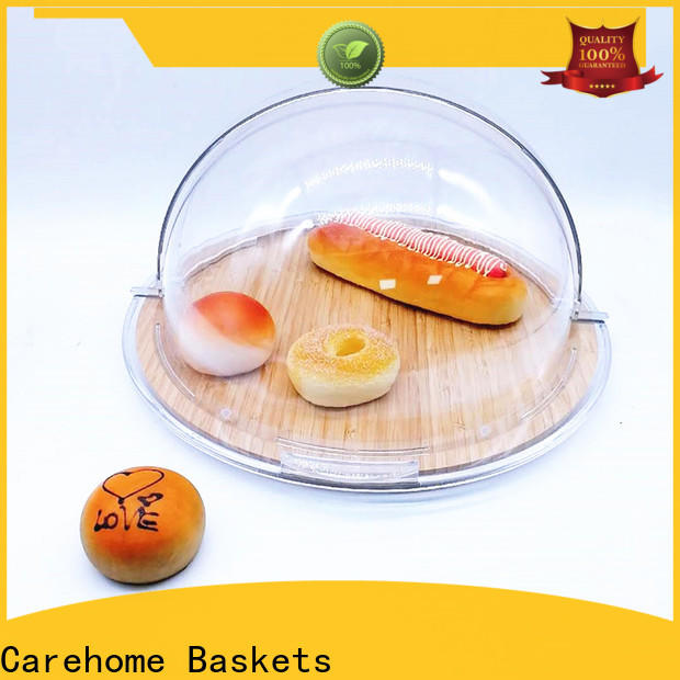 Carehome 4040cm bamboo bread basket manufacturer for sale