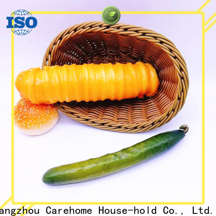 Carehome microwave safety wicker bread basket with high quality for family