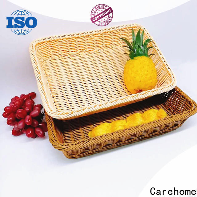 handicraft rattan bread basket displaying supplier for family